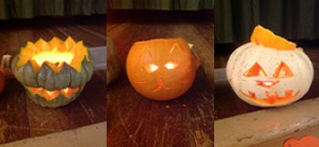 Pumpkins, All Saints, andAdvent