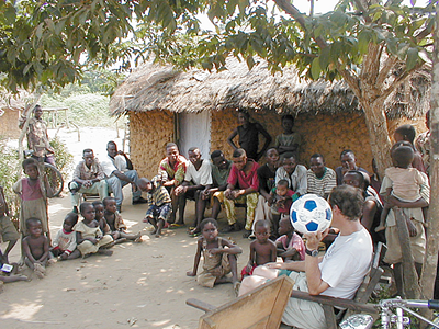 January Mission Offering: Soccer Balls for Congo