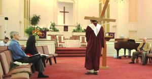 Dan Carries the Cross