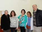 Dan and Sharon Buttry with friends in Israel