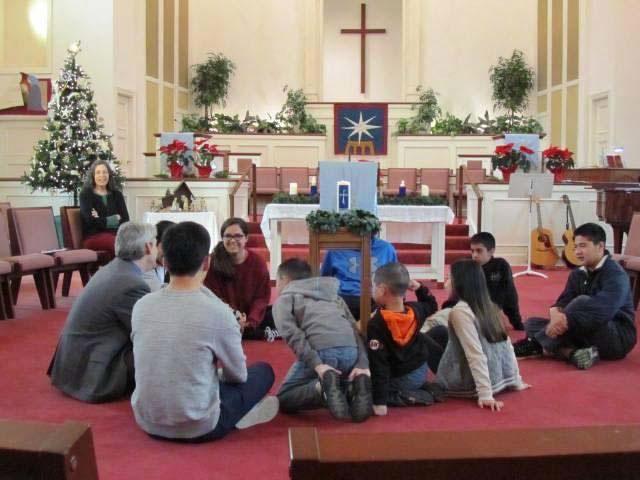 Doug Davidson with Children