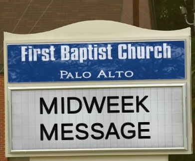 Midweek Message