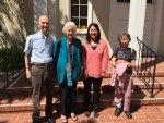 Lynn and Marilyn Hunwick with Mizuki Uno