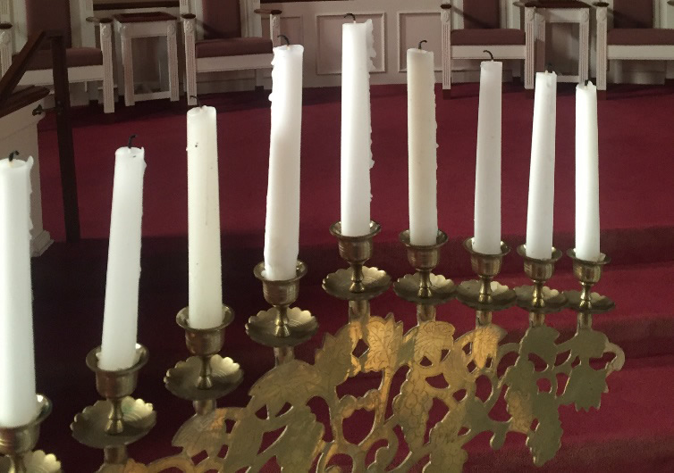 Advent- candelabra