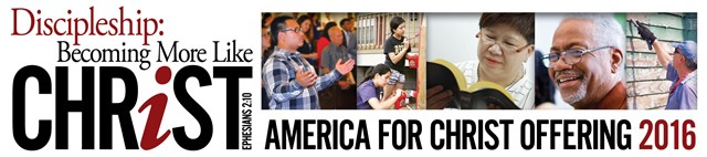 Mission Offering for March: America for Christ (3/30/16)