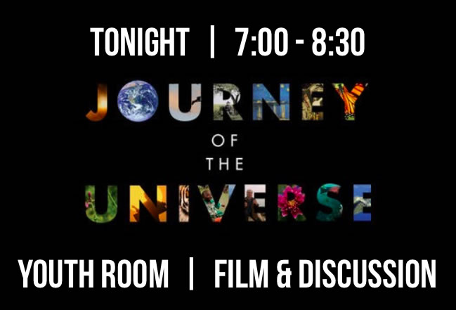 Journey of the Universe- April 6,2016