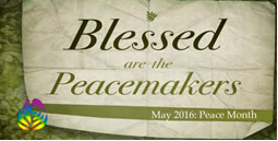 Mission Offering for May: Baptist Peace Fellowship (5/18/16)