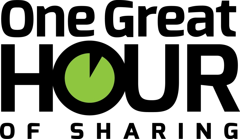 Mission Offering for July: One Great Hour of Sharing (7/20)
