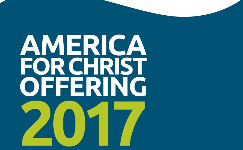 Mission Offering Update: America for Christ (3/22)